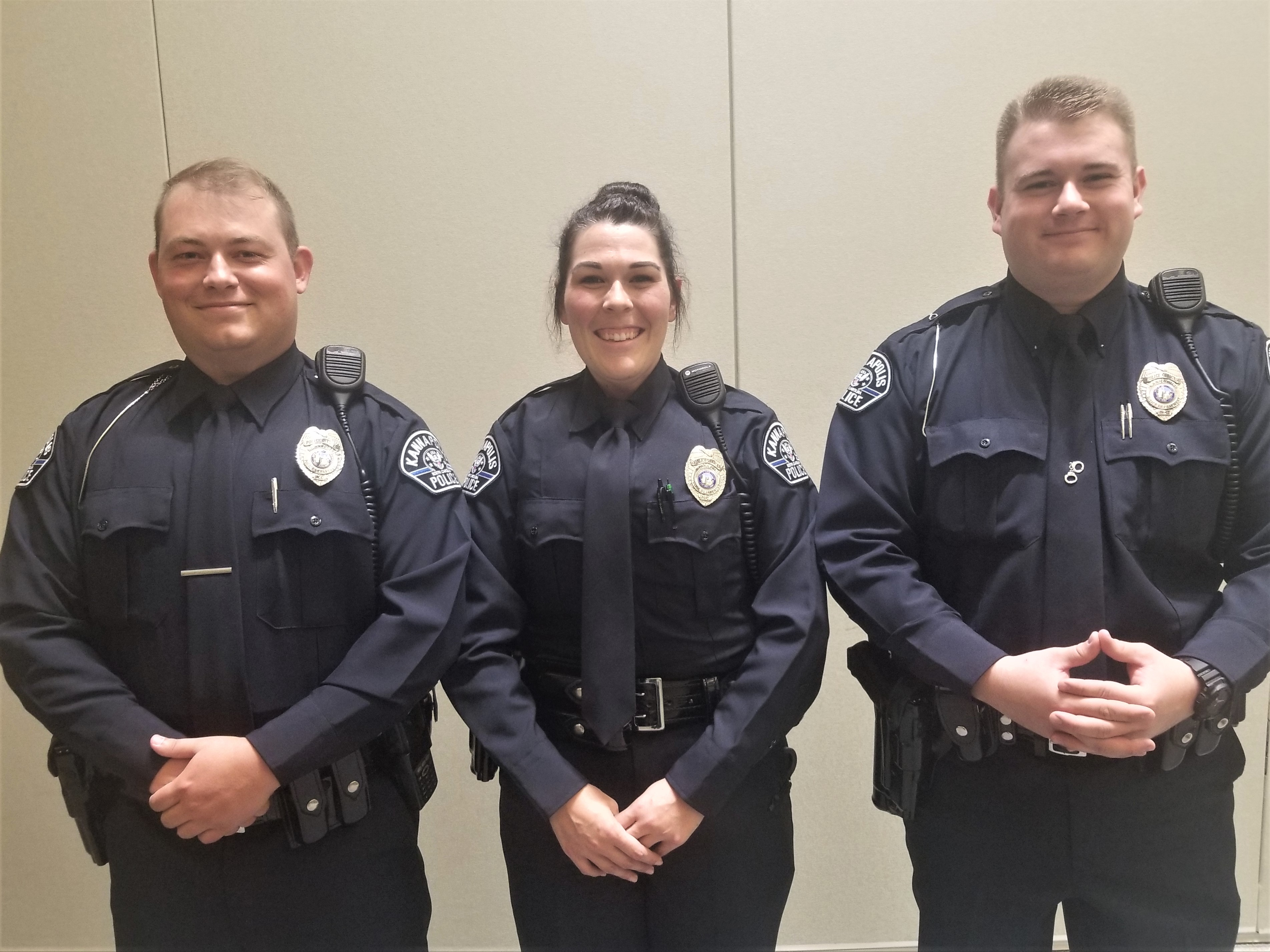 New Officers Join Kannapolis Police Department > City of